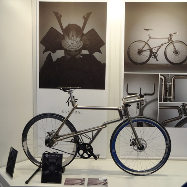 COMPAMED2014 at (international medical equipment technology and parts Exhibition) SAMURAI BIKE