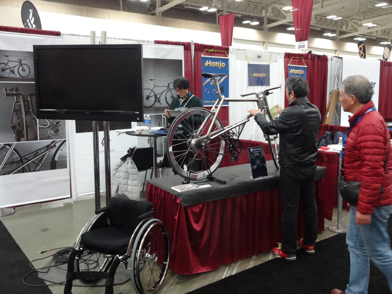 2015 North American Handmade Bicycle Show. SAMURAI. FUTA・Q