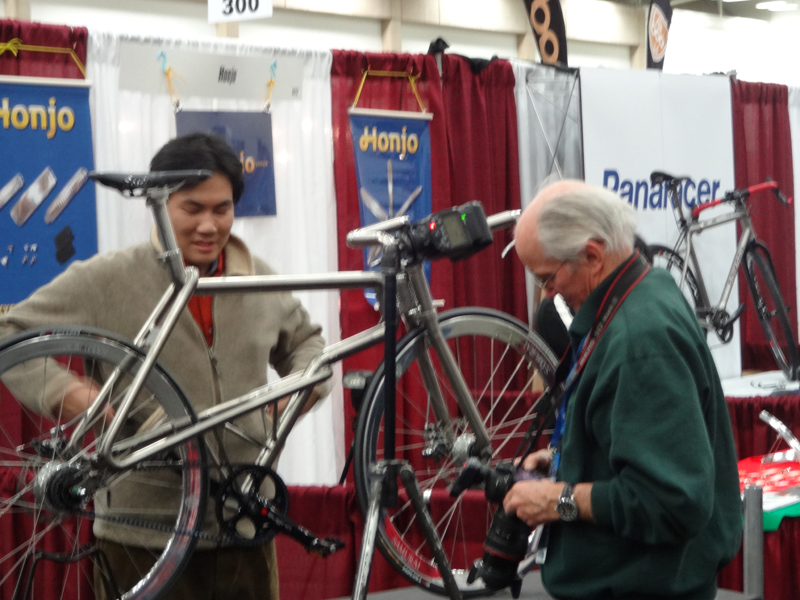 2015 North American Handmade Bicycle Show. SAMURAI BIKE