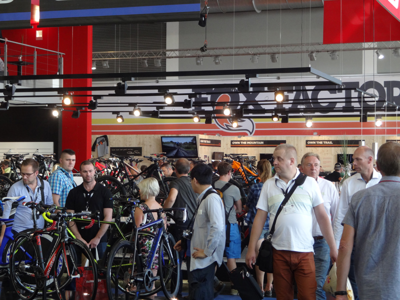 EUROBIKE 2015 (one of the biggest bike exhibitions in the world)