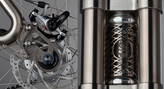 Surface micro-fabrication SAMURAI high-end road bike